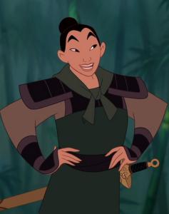 Mulan movie screenshot