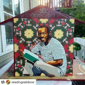LeVar Burton Little Free Library