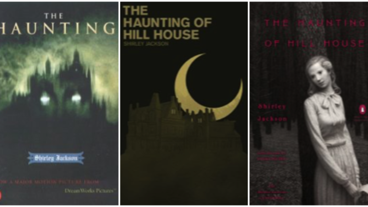 The Creepy Fantastic Covers Of The Haunting Of Hill House