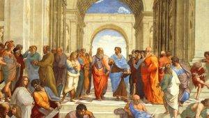 "Raphael, ""The School of Athens"""