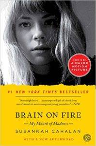 brain on fire by susannah cahalan book cover