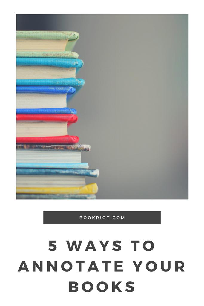 How To Annotate Your Books   BookRiot.com
