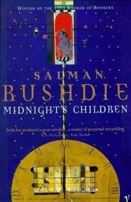 Midnight's Children Rushdie cover