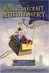 The Wollstonecraft Detective Agency series by Jordan Stratford, Illustrated by Kelly Murphy