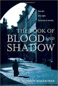 Book of Blood and Shadow cover
