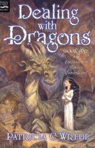 cover of dealing with dragons