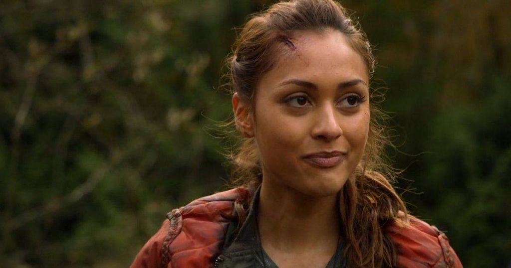 Lindsey Morgan. Raven. The 100. CW.