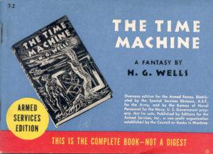 Cover of American Services Edition book The Time Machine