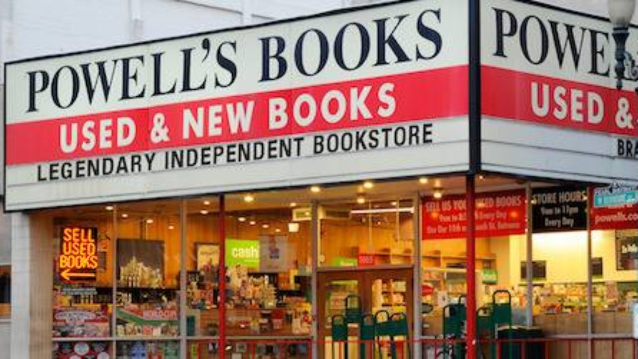 Image result for Powell's books Portland