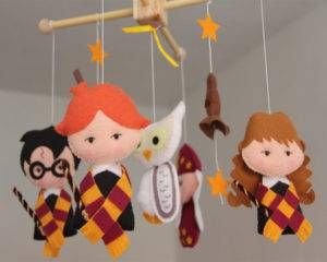 Harry Potter baby mobile