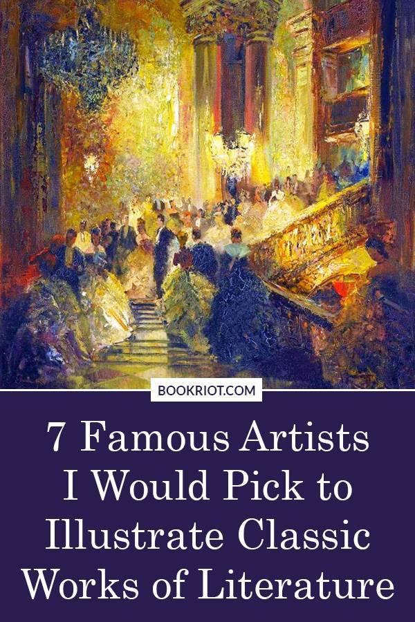 7 Dream Artist/Book Pairings