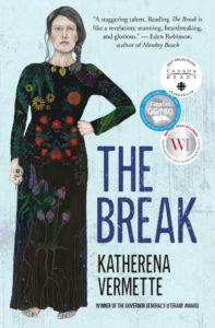 The Break by Katherena Vermette cover in Award-Winning Canadian Books from 2017 | BookRiot.com