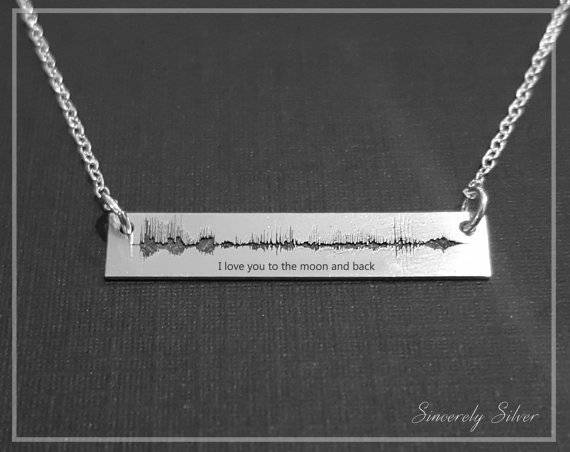 Books in Space! I Love You to the Moon and Back Necklace