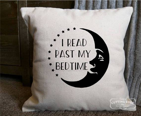 Books in Space! I Read Past My Bedtime Pillow