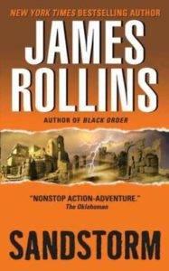 Sandstorm James Rollins cover