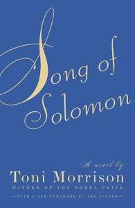 song of solomon toni morrison cover