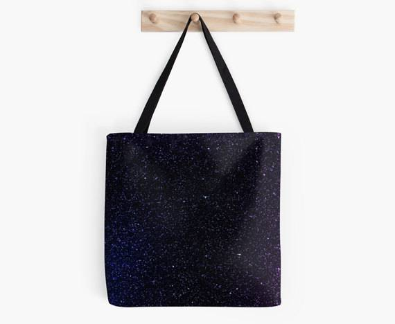 Books in Space! Space Book Tote
