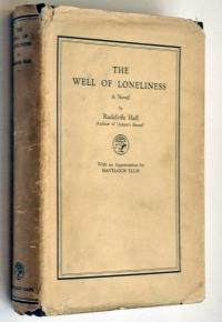 First edition of The Well of Loneliness by Radclyffe Hall