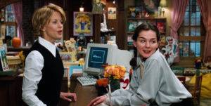 image of bookstore in You've Got Mail