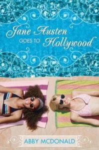 Jane Austen Goes to Hollywood by Abby McDonald cover