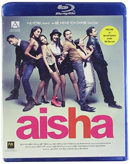 Aisha blu-ray film cover