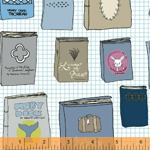 Fabric by Heather Givans Classic Books