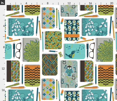 Fabric Notebooks and Journals