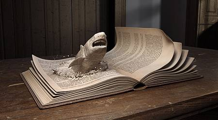 6 Book Sculptures That Will Blow Your Mind
