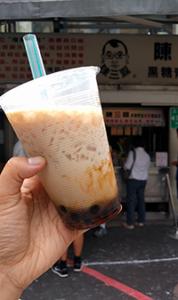 Boba tea in Taipei