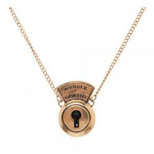 Fantastic Beasts and Where to Find Them Muggle Worthy Lock Necklace