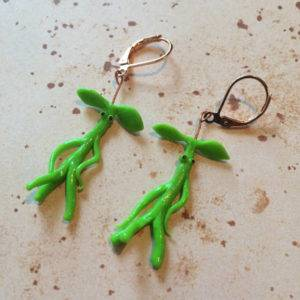 Pickett the Bowtruckle Earrings