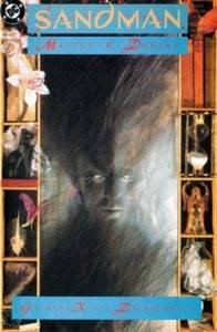Sandman #1, cover by Dave McKean