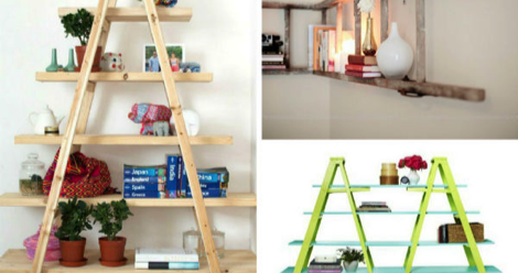 Reclaim Your Shelf Space With These DIY Bookshelves