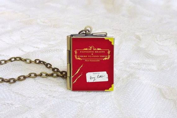 Fantastic Beasts and Where to Find Them Book Locket