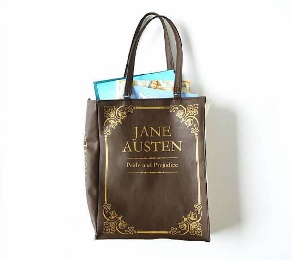 Jane Austen shopper from 10 of Etsy's Fanciest Book-Inspired Bags | BookRiot.com
