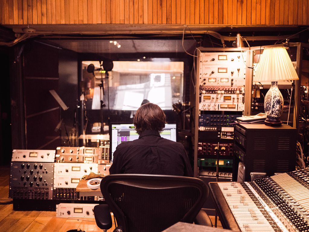 audiobook recording studio
