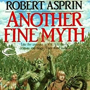 myth adventures audiobook cover