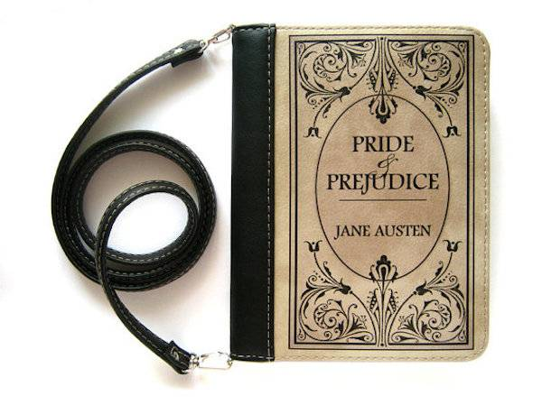 Pride and Prejudice crossbody bag from 10 of Etsy's Fanciest Book-Inspired Bags | BookRiot.com