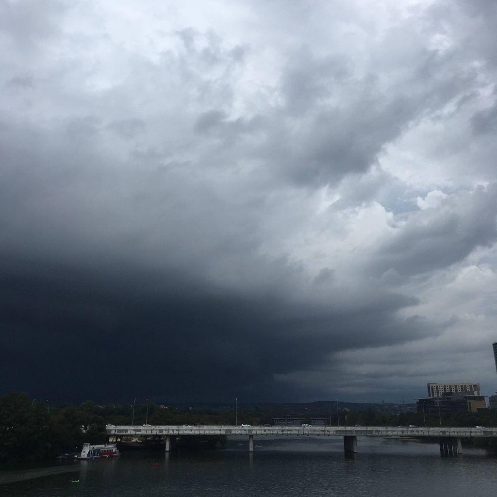 Suspiciously Dark Clouds
