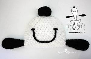 Snoopy Hat by Sarah Zimmerman