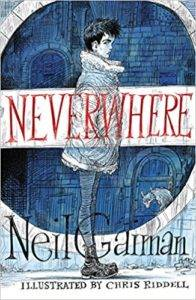 Cover of the illustrated edition of NEVERWHERE by Neil Gaiman
