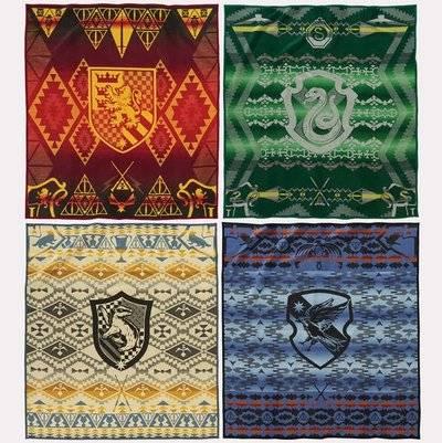 Harry Potter by Pendleton Four Blanket Set