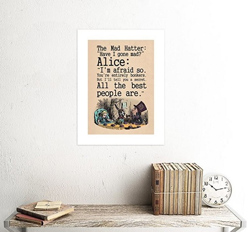 Mad Hatter Tea Quote