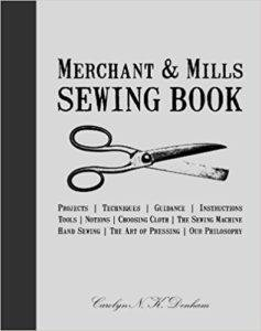 Cover of Merchant and Mills Sewing Book