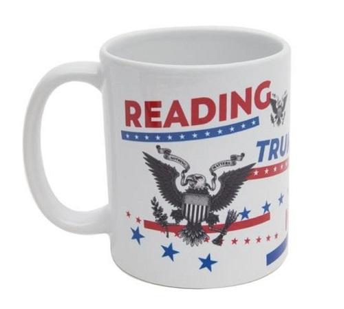 Reading Trumps Ignorance Mug