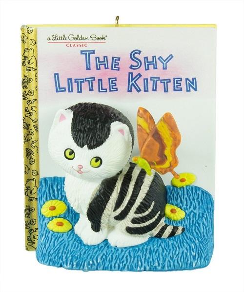 Shy Little Kitten Ornament