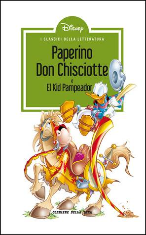 Book cover of Paperino Don Chisciotte