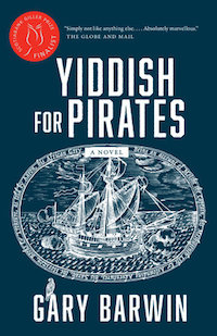 Yiddish for Pirates by Gary Barwin cover in Award-Winning Canadian Books from 2017 | BookRiot.com