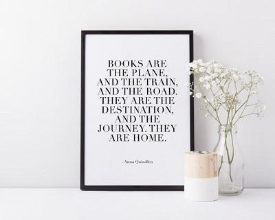Anna Quindlen Reading Quote