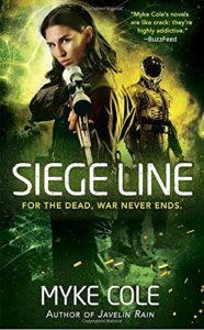Fantasy Series Comes to an End | Siege Line Myke Cole